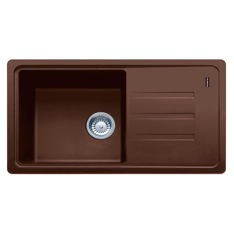 Кухонная мойка Franke Malta BSG 611-78 шоколад
