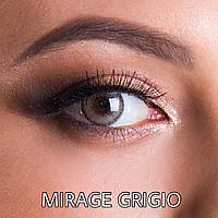 Цветные линзы ЛЮКС качество с диоптриями от -1 до -6 с шагом 0,5 Rainbow Mirage Grigio Турция