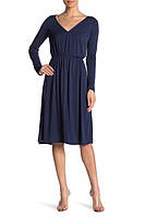 Женское синее миди платье Abound