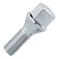 Болты 12x1,25 конус L28 хром 17 ключ