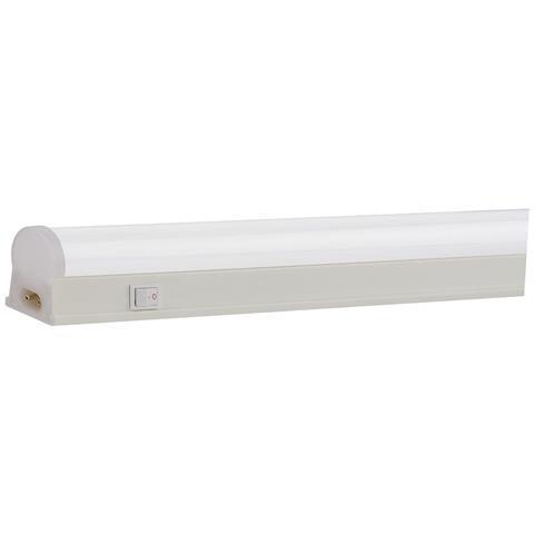 Линейный светодиодный светильник HOROZ HL3011L 9W Т8 матовый 6400К 546мм 220V Код.58317