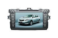 Штатная автомагнитола с GPS навигацией для автомобилей Toyota Corolla 2008-2011   Автомобильная магнитола