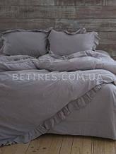Комплект постельного белья 160x220 LIMASSO OPAL GREY EXCLUSIVE серый