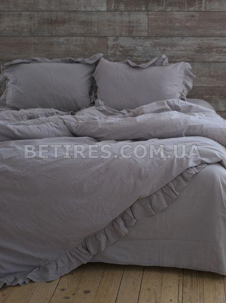 Комплект постільної білизни СІМЕЙНИЙ LIMASSO OPAL GREY EXCLUSIVE сірий