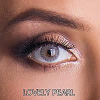 Цветные линзы Rainbow ЛЮКС качество с диоптриями от -1 до -6 с шагом 0,5 Lovely Pearl Турция