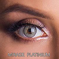 Цветные линзы ЛЮКС качество с диоптриями от -1 до -6 с шагом 0,5 Rainbow Mirage Platinium Турция