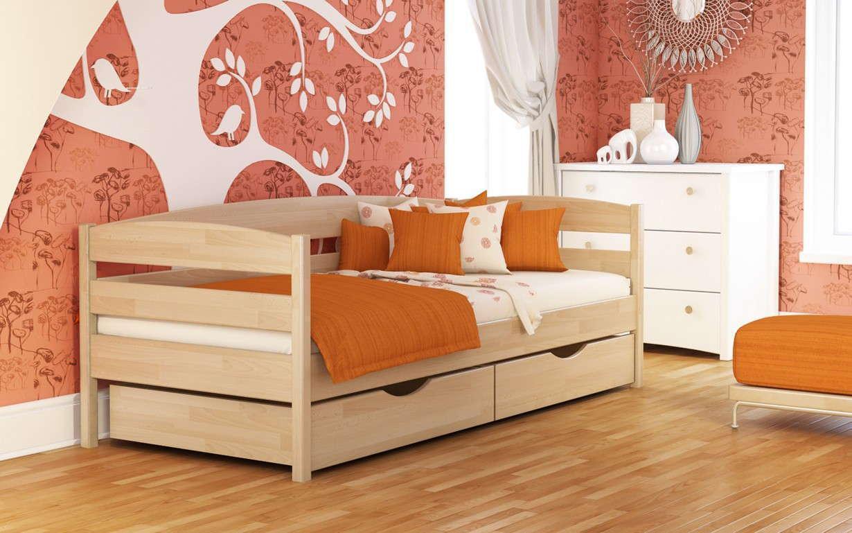 Деревянная кровать Нота Плюс Массив 80х190 см. Эстелла