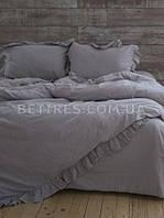 Комплект постельного белья 200x220 LIMASSO OPAL GREY EXCLUSIVE серый