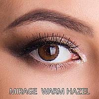 Цветные линзы Люкс качество Rainbow Mirage Warm Hazel Турция