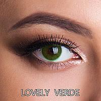Цветные линзы Люкс качество Rainbow Lovely Verde Турция