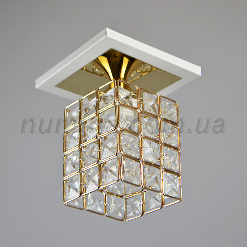 Люстра хрустальная на одну лампу 3-N0772/1 FGD