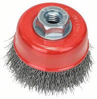 Щетка чашечная из стальной проволоки Bosch Clean for Metal Ø 70x0.3 мм