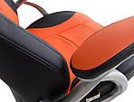 Кресло Либерти черно-оранжевый, Richman, фото 6