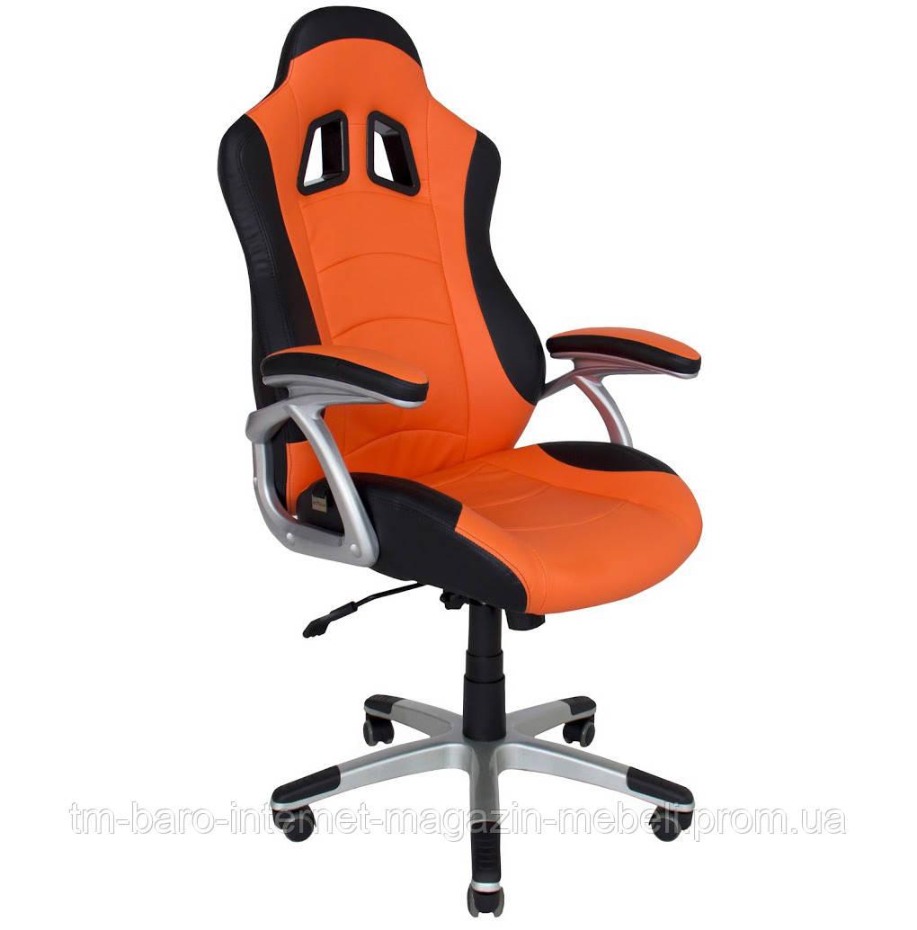Кресло Либерти черно-оранжевый, Richman