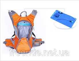 Питьевая система, гидратор 2 л (голубой), фото 2