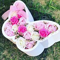 Пенобокс Фигурные Коробки для цветов, подарков