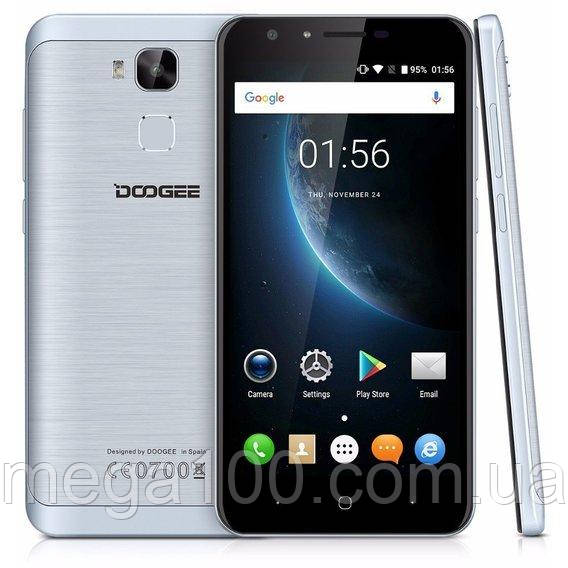 """Смартфон DOOGEE Y6C серый (""""5,5 экран, 2/16 памяти, батарея 3200 мА/ч )"""