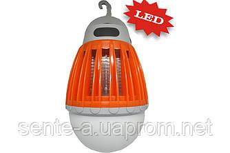 Аккумуляторная антимоскитная ловушка и LED светильник 2 в 1 Sunlight