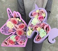 Пенобокс Фигурные Коробки для цветов, подарков,из пенопласта\полистирола