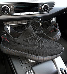 Мужские и Женские кроссовки adidas Yeezy Boost 350 2.0 Black