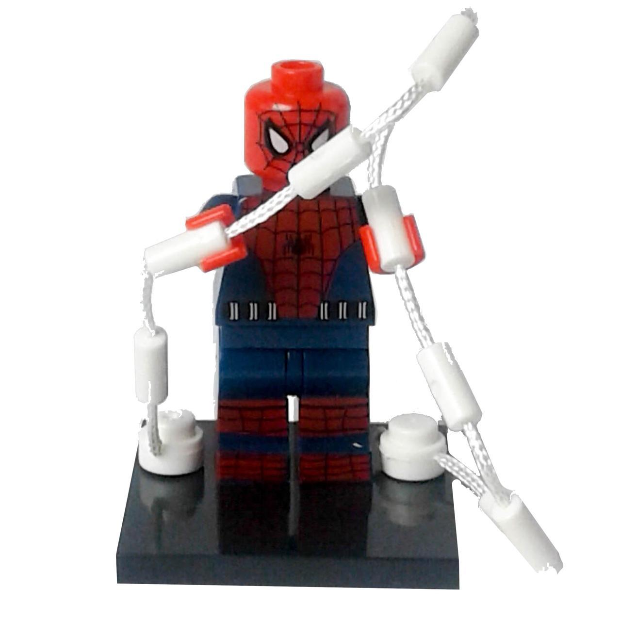 Человек-паук Мстители Супергерой Марвел Аналог лего ...