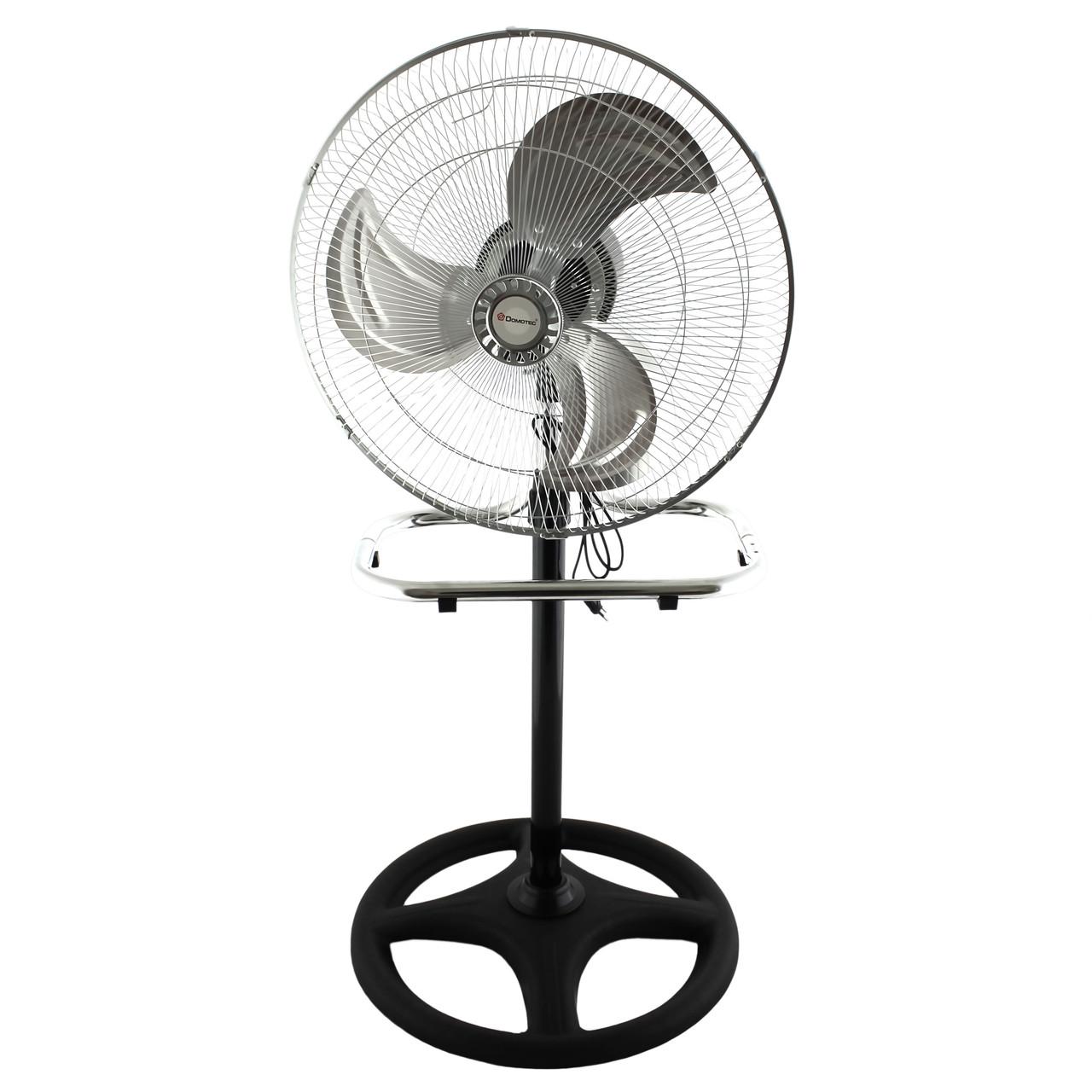 Потужний вентилятор підлоговий настільний Domotec 2 в 1,кондиціонер 22