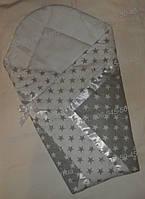 """Конверт-Одеяло на выписку новорожденного """"Звезда"""""""