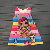 Детская одежда Платье нарядное LOL для девочек р.3-4 года