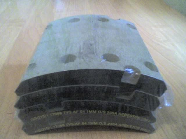 Накладки тормозные 17988 2 ремонт