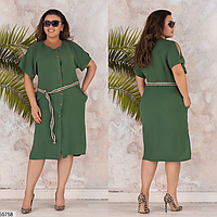 Летнее платье большого размера ТМ Фабрика моды батал Одесса интернет-магазин одежды р. 48-50, 52-54, 56-58