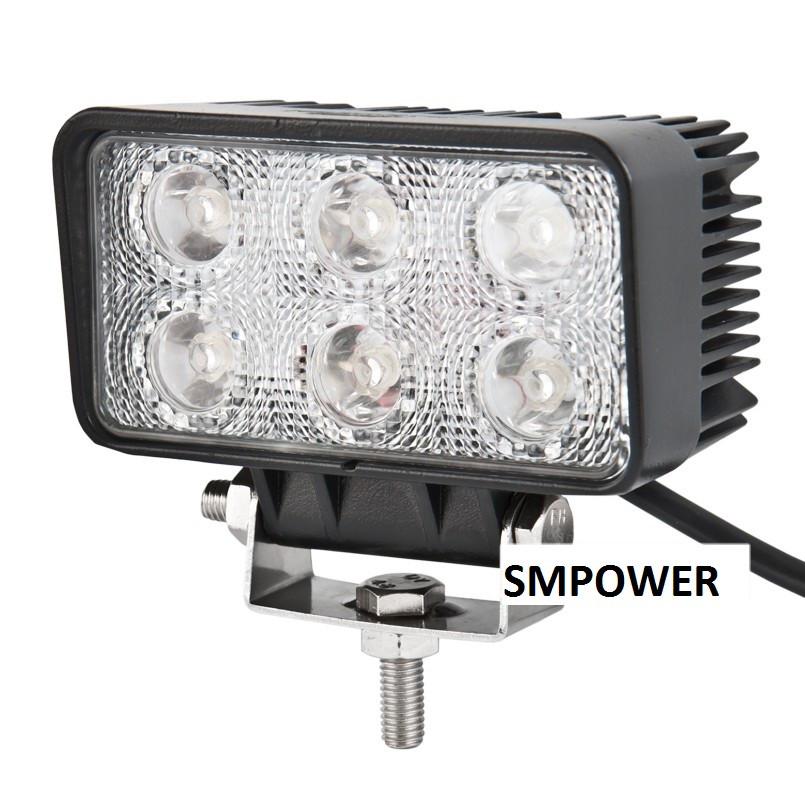 Фара светодиодная LED BELAUTO EPISTAR Spot, 18W, Точечный свет