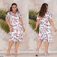 710dbfa9502ee50 Летнее платье большого размера ТМ Фабрика моды батал Одесса  интернет-магазин одежды р. 48