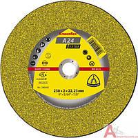 Отрезной круг по металлу  230 х 2 х 22.2 мм  A 24 Extra Kronenflex