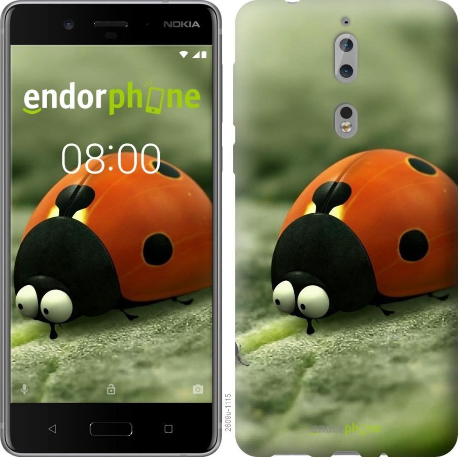 Чехол для телефона Nokia 8 Букашки. Приключение в Долине муравьев