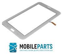 Сенсор (Тачскрин) для планшета Samsung T111 Galaxy Tab 3 Lite 7.0 3G С вырезом по динамик (Белый) Ориг Китай