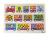 Деревянная игрушка Рамка-вкладыш MD 0646 ( 0646-4)