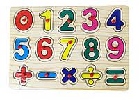 Деревянная игрушка Рамка-вкладыш MD 0646 ( 0646-5)