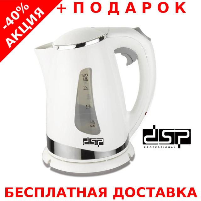 Чайник электрический пластиковый DSP KK1110 1850W 1.7L