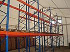 Складской стеллаж приставной H4500хL1800х1100 мм(пол.+2 уровня по 2400 кг на уровень), стеллаж для паллет, фото 8