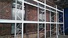 Складской стеллаж приставной H4500хL1800х1100 мм(пол.+2 уровня по 2400 кг на уровень), стеллаж для паллет, фото 10