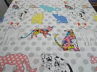 Ткань для пошива постельного белья ранфорс Пакистан Мульти, фото 1
