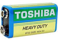 Батарейка Toshiba 6F22  10шт/уп
