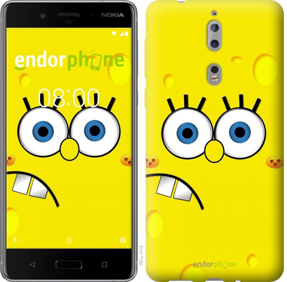 Чехол для телефона Nokia 8 спанчбоб