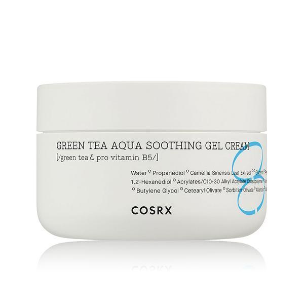Увлажняющий и успокаивающий гель-крем с зеленым чаем COSRX Hydrium Green Tea Aqua Soothing Gel Cream 50ml