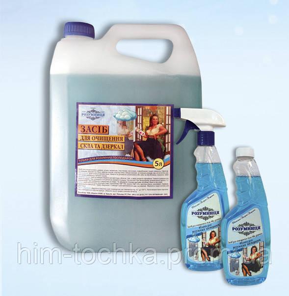 Средство для мытья стекол  Розумниця  500 мл,запаска