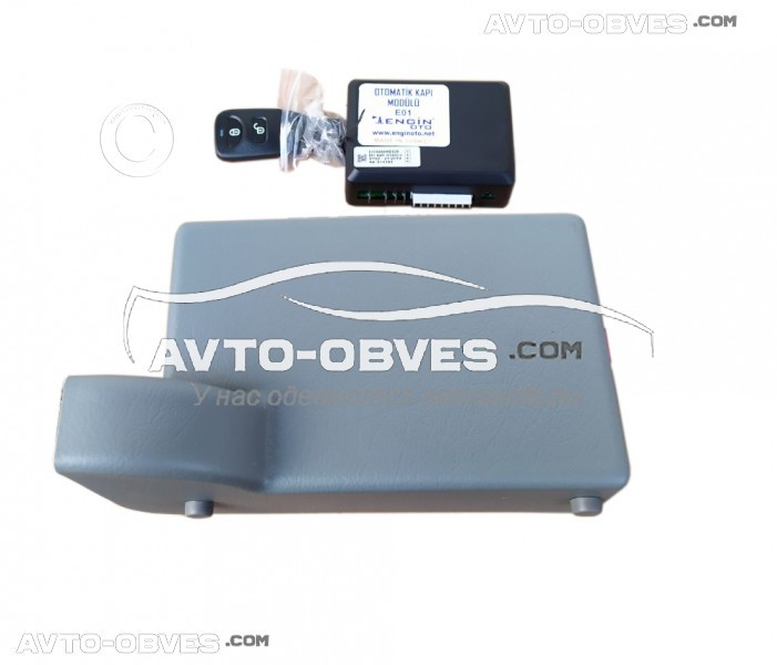 Электро-дотяжка сдвижной двери для Опель Виваро 1-о моторный (инструкция, гарантия, усиленная проводка)