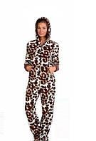 Женская слитная пижама комбинезон Турция LA-5001 46