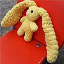 Зайчик очаровашка жовтий 200012, фото 2