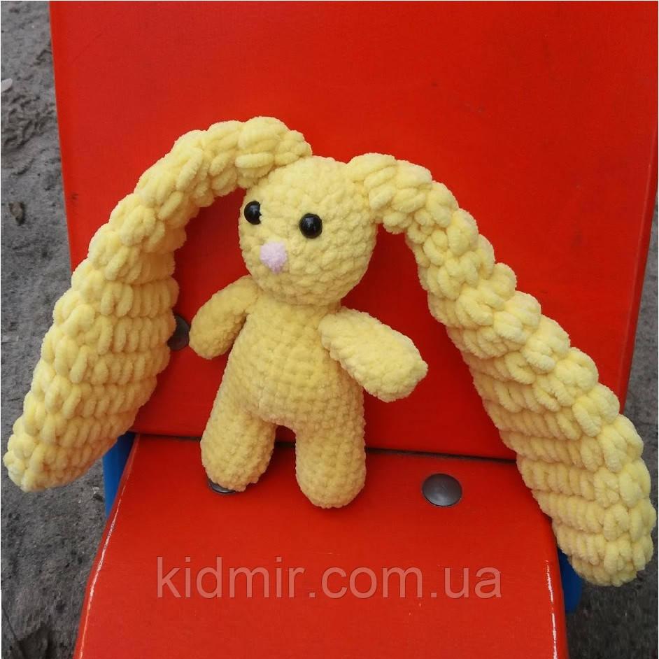 Зайчик очаровашка жовтий 200012