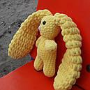 Зайчик очаровашка жовтий 200012, фото 3